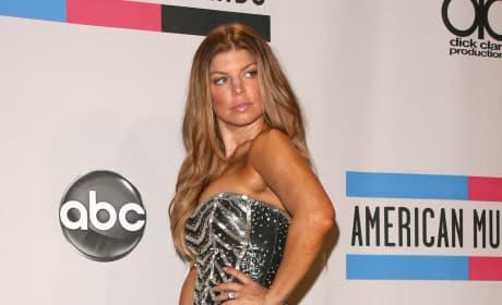 Fergie in Silver