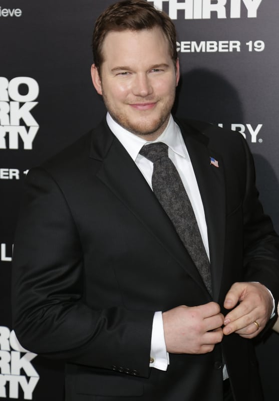 Chris Pratt in December 2012