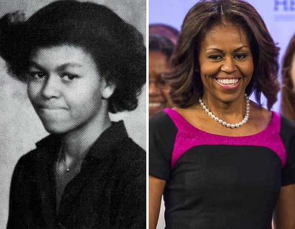 Young Michelle Obama - The Hollywood Gossip