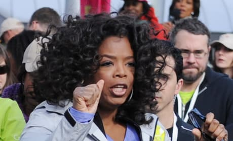 Oprah Puts 'Em Up