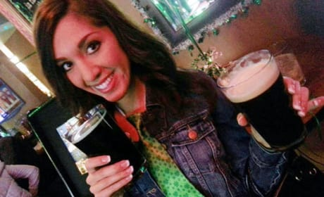 Farrah Abraham Drinking
