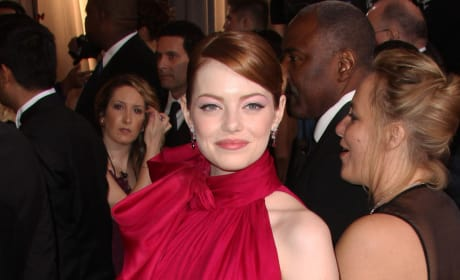 Emma Stone at the Oscars