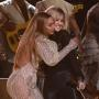 Beyonce Hugs Martie Maguire