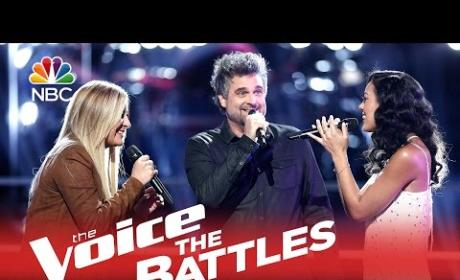 Amy Vachal vs. Jubal and Amanda (The Voice Battle Round)