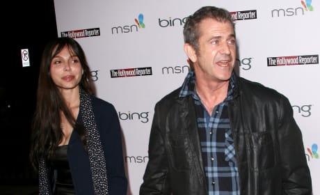 Mel Gibson and Oksana Grigorieva Image