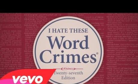 "Weird Al Yankovic - ""Word Crimes"""
