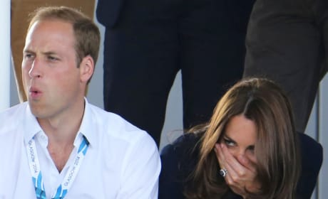 Kate Middleton and Prince William: OUCH!