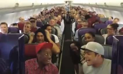 "Lion King Cast Takes Over Flight, Brings Passengers Into ""The Circle of Life"""