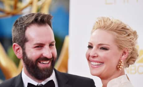 Katherine Heigl and Josh Kelley: 66th Annual Primetime Emmy Awards
