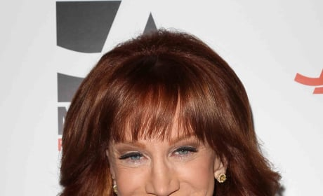 Kathy Griffin Red Carpet Pic