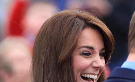 Kate Middleton Has A Laugh