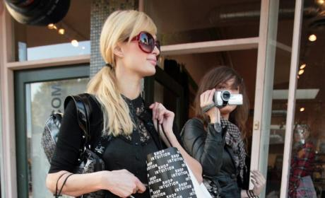 Brittany Flickinger and Paris Hilton Photo