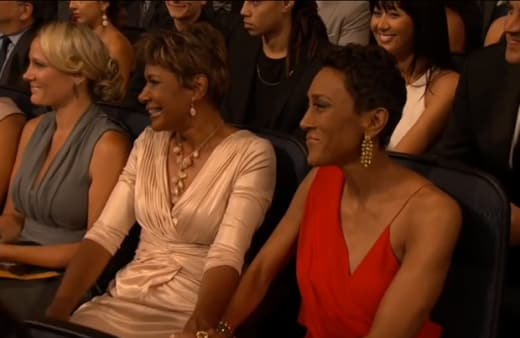 Amber Laign at the ESPYs