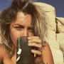 Paris Jackson Drinking Tea