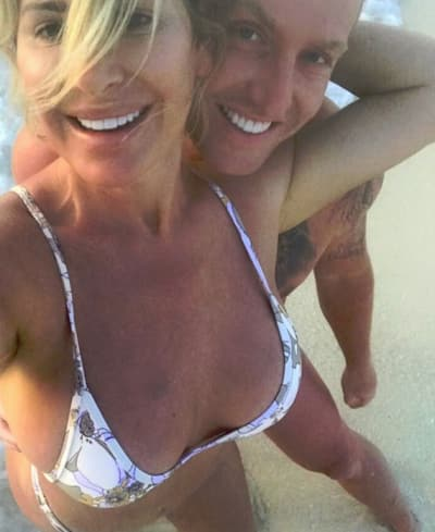 Kim Zolciak Selfie with Kroy Biermann
