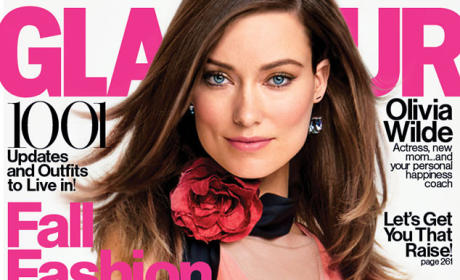Olivia Wilde Glamour Cover