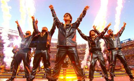 Bruno Mars Halftime Photo
