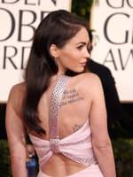 Megan Fox at the Golden Globes