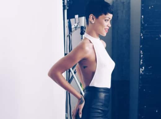 Rihanna Gun Tattoo Photo