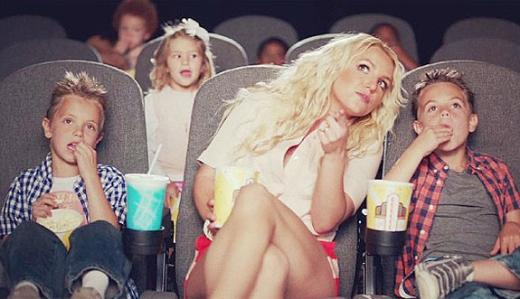 Britney Spears and Her Sons