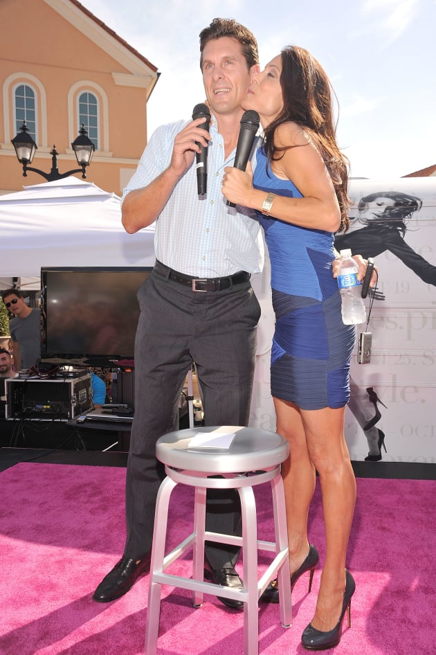 Bethenny Frankel and Hoppy