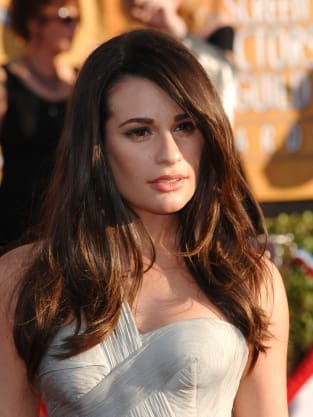 Lea Michele Red Carpet Pic