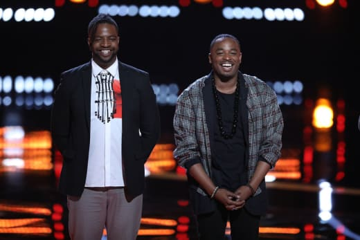 Rayshun LaMarr and D.R. King on The Voice