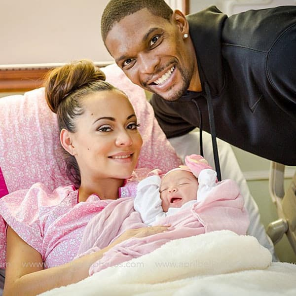 Chris Bosh Baby Pic