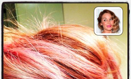 Lauren Conrad Pink Hair
