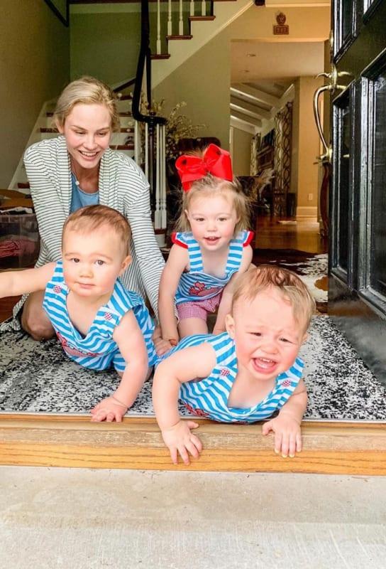 Meghan king edmonds and 3 kids