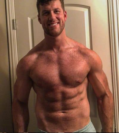 Clayton Echard Shirtless