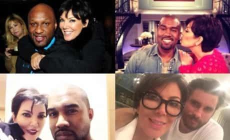 Kris Jenner Mother's Day Post