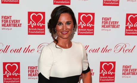 Pippa Middleton: British Heart Foundation's Roll Out The Red Ball