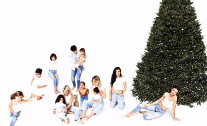 Kardashian Christmas Card: Unveiled! Controversial!