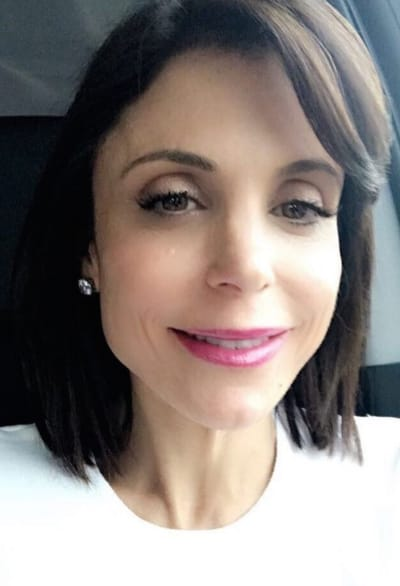 Bethenny Frankel in the Car