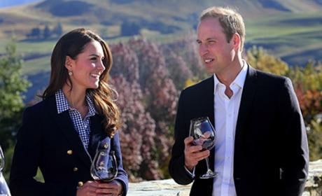 William and Kate at Vineyard