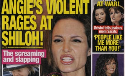 Tabloid Alleges: Angelina Jolie Rages at Shiloh!