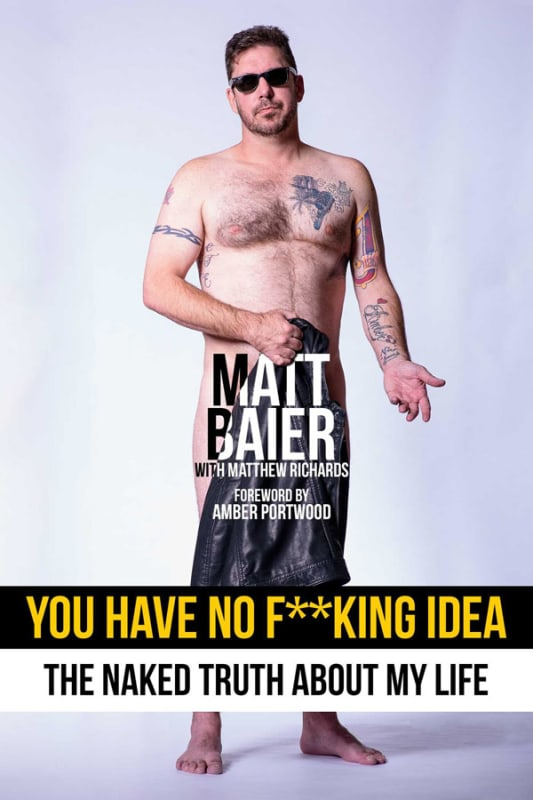 Matt baier book cover