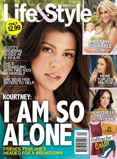 Kourtney Kardashian: All Alone?