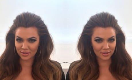 Khloe Kardashian: Brunette Again