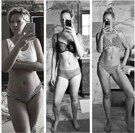 Katherine Heigl, Post-Baby Weight Loss