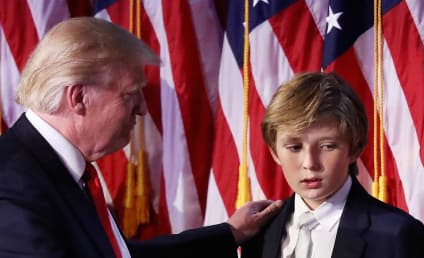 Rosie O'Donnell Wonders If Barron Trump is Autistic