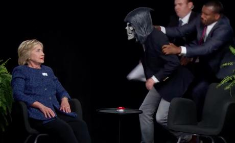 Hillary Clinton vs. the Grim Reaper
