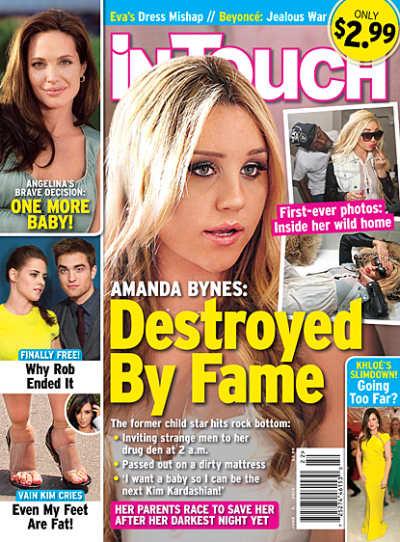 Amanda Bynes Tabloid Cover