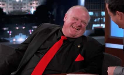 Rob Ford Appears on Jimmy Kimmel Live, Gets Totally Mocked
