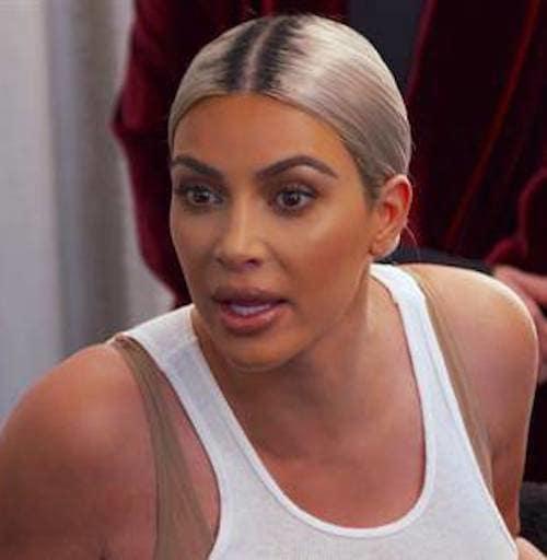 Kim Kardashian, So Angry