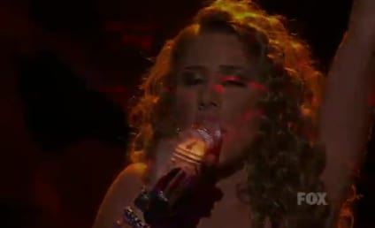 Haley Reinhart Goes Gaga on American Idol