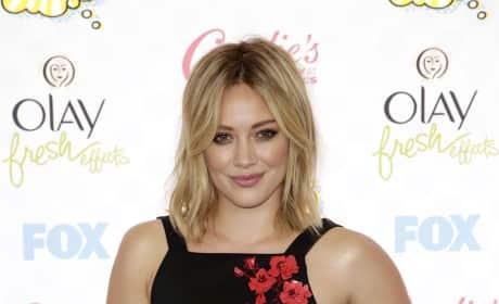 Hilary Duff at the 2014 Teen Choice Awards
