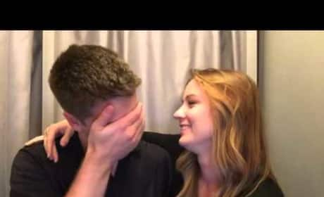 Photo Booth Pregnancy Announcement