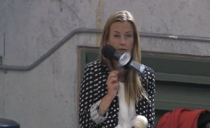 Reporter Hit by Baseball, Carries on Like a Pro